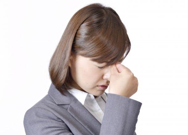 ストレートネックが原因の意外な症状(ドライアイ)